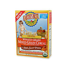 Earth's Best® Organic 8 oz. Whole Grain Apple Sweet Potato Mixed Grain Cereal