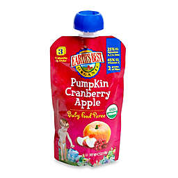 Earth's Best® Organic 4.2 oz. Pumpkin Cranberry Apple Baby Food Puree