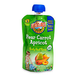 Earth's Best® Organic 4.2 oz. Pear Carrot Apricot Baby Food Puree