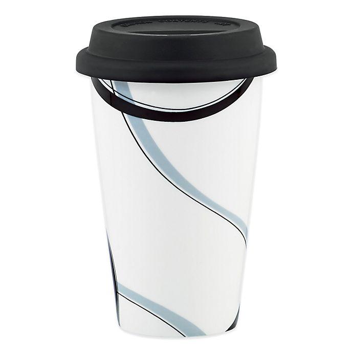 Alternate image 1 for Lenox® Vibe Black & Grey Travel Mug