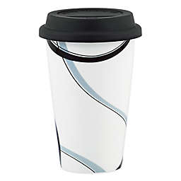 Lenox® Vibe Black & Grey Travel Mug