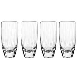Qualia Breeze Highball Glasses (Set of 4)