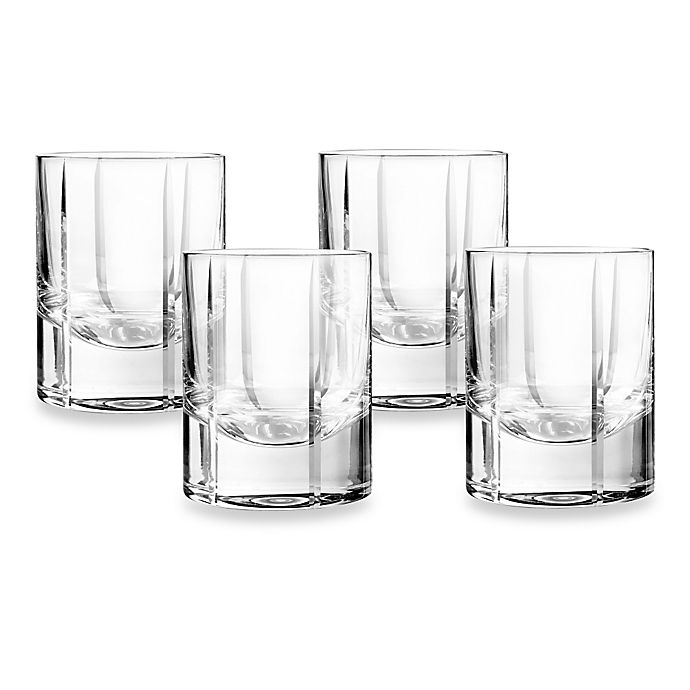 Alternate image 1 for Qualia Trend Double Old Fashioned Glasses (Set of 4)
