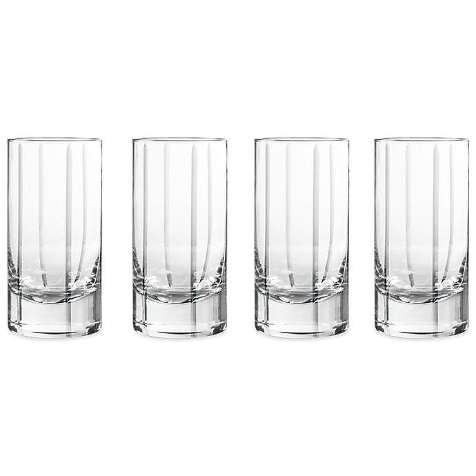 Alternate image 1 for Qualia Trend Highball Glasses (Set of 4)