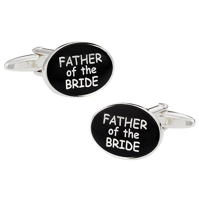Alternate image 1 for Cuff-Daddy Father of the Bride Cufflinks