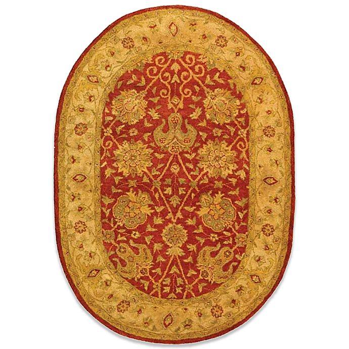 Alternate image 1 for Safavieh Antiquities Rust Wool 4' 6\