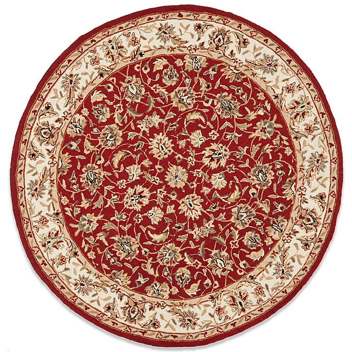 Alternate image 1 for Safavieh Chelsea Collection Wool 5-Foot 6-Inch Round Rug