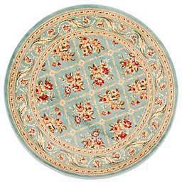 Safavieh Courtland 5-Foot 3-Inch Round Rug in Blue