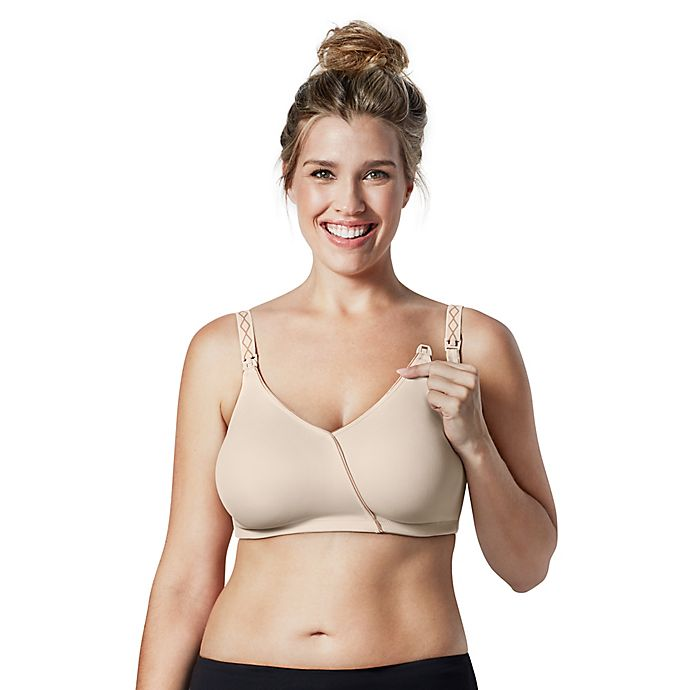 f0597fd3d22fb9 Bravado Designs Essential Embrace™ Size 38D E Nursing Bra in Chai Almond