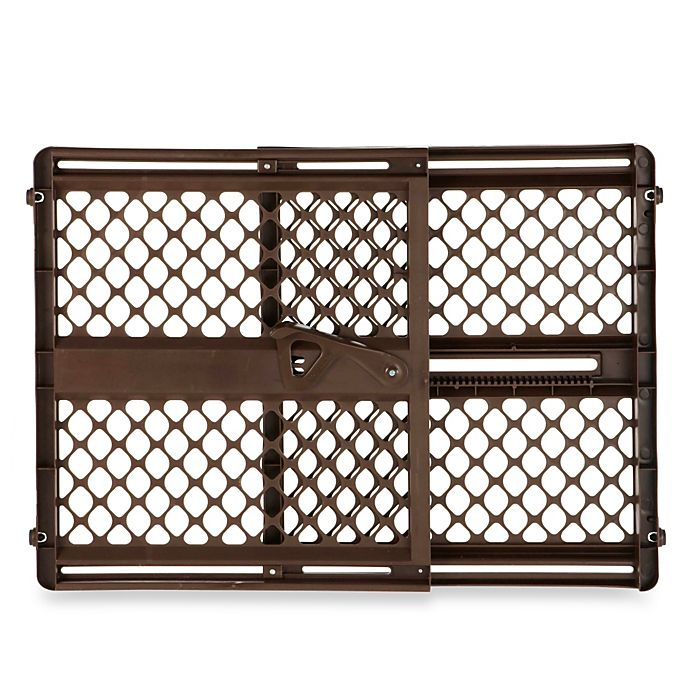 Alternate image 1 for Toddleroo by North States® Ergo Supergate® in Espresso