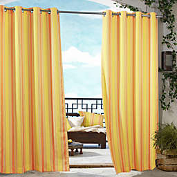 Fashions Gazebo Striped Outdoor Curtain