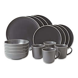 Gordon Ramsay by Royal Doulton® Bread Street 16-Piece Dinnerware Set in Slate