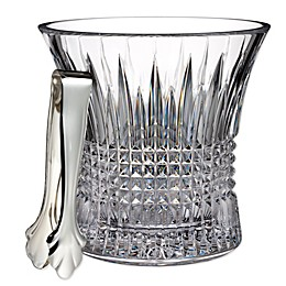 Waterford® Lismore Diamond Ice Bucket with Tongs