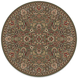 Concord Global Mahal Green 7-Foot 10-Inch Round Rug
