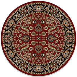 Concord Global Trading Sultanabad 5-Foot 3-Inch Round Rug in Red