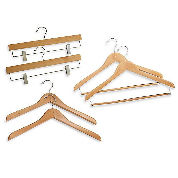 Alternate image 1 for E-Z Do Deluxe 2-Pack Clothing Hangers