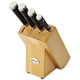 Anolon® Cutlery 5-Piece Knife Block Set