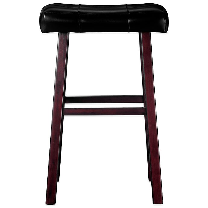 Ampersand Padded Saddle Stool Bed Bath Amp Beyond