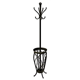 Ampersand™ Charleston Standing Coat Rack in Black