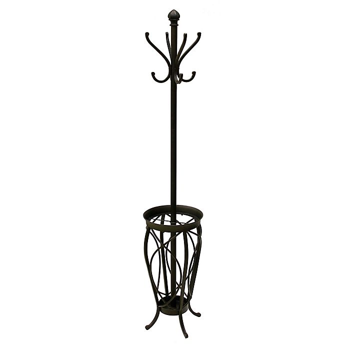 Alternate image 1 for Ampersand™ Charleston Standing Coat Rack in Black