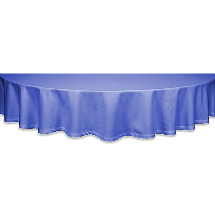 Alternate image 1 for Classique 60-Inch Round Tablecloth in Periwinkle