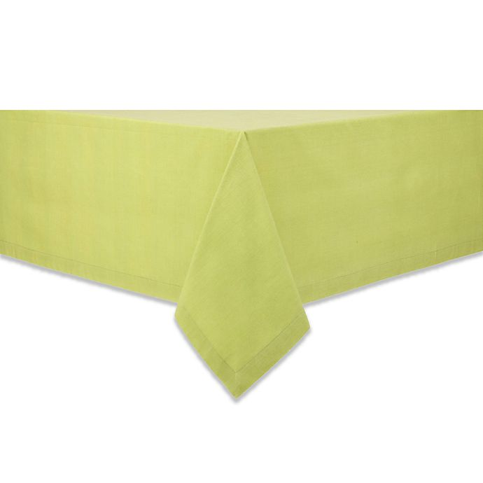 Alternate image 1 for Classique 60-Inch x 84-Inch Tablecloth in Celery