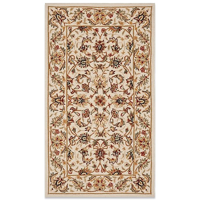 Alternate image 1 for Safavieh Chelsea Collection Wool Rugs in Ivory