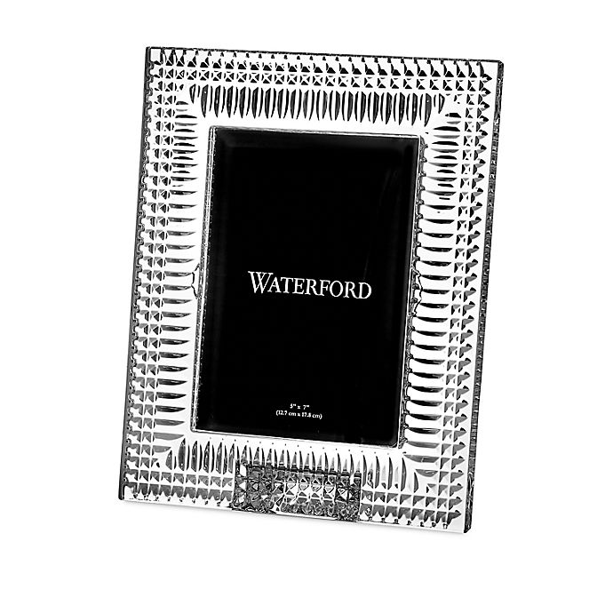 Alternate image 1 for Waterford® Lismore Diamond 5-Inch x 7-Inch Picture Frame