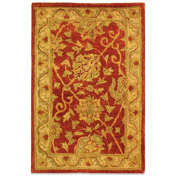 Alternate image 1 for Safavieh Antiquities Rust Wool 5' x 8' Rectangle Rug