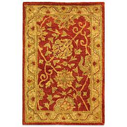Safavieh Antiquities Rust Wool 5' x 8' Rectangle Rug