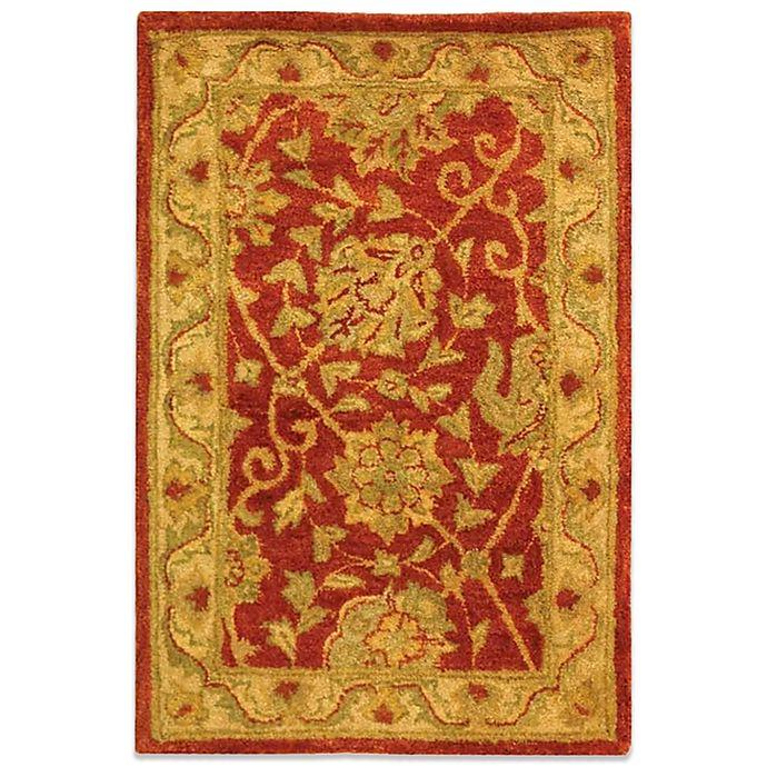 Alternate image 1 for Safavieh Antiquities Rust Wool 2' x 3' Accent Rug
