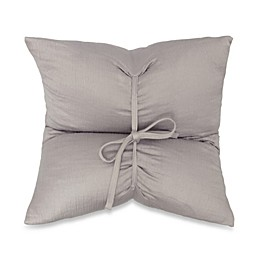 DKNYpure Pure Indulge Matelassé Square Throw Pillow in Grey