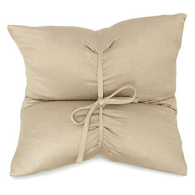 DKNYpure Pure Indulge Matelassé Square Throw Pillow in Linen