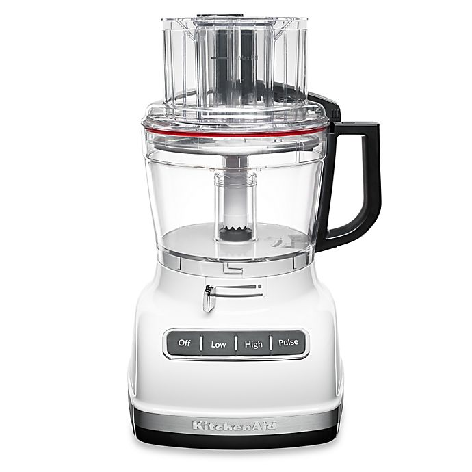 Alternate image 1 for KitchenAid® 11-Cup Food Processor in White