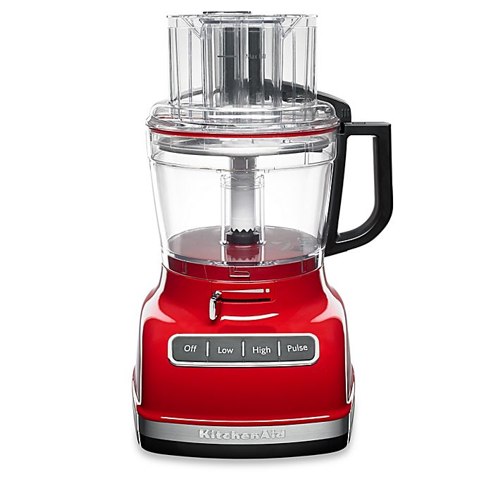 Alternate image 1 for KitchenAid® 11-Cup Food Processor in Red