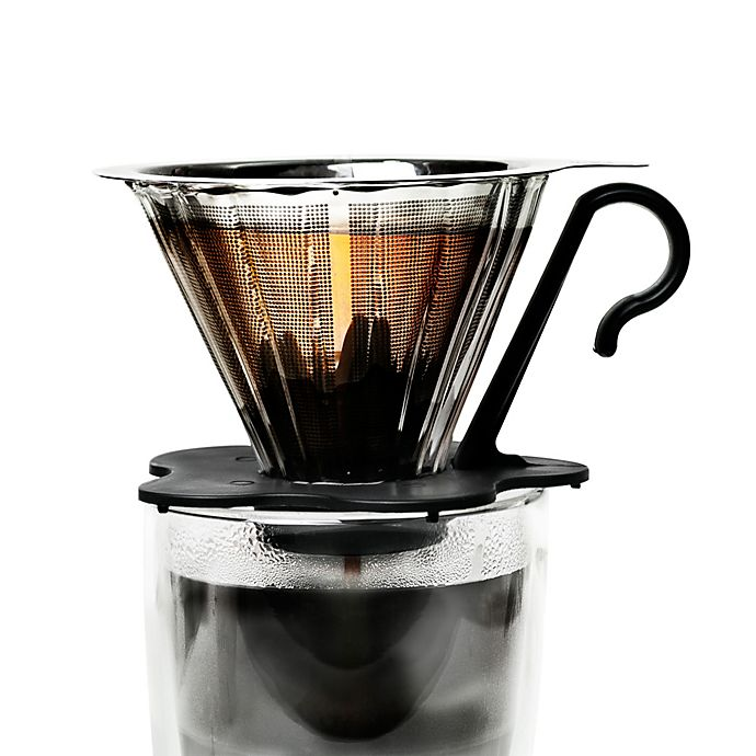 Alternate image 1 for Primula® Pour Over 1-Cup Glass Coffee Maker