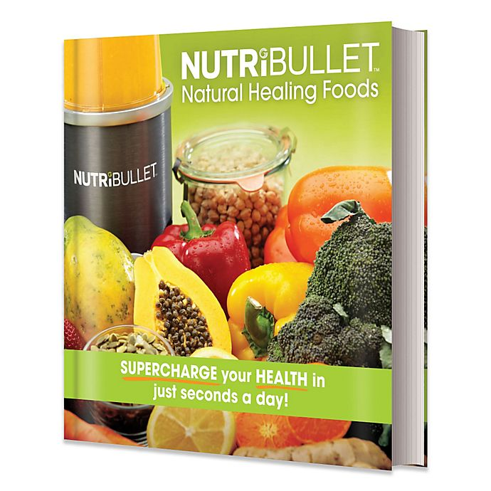 Alternate image 1 for NutriBullet® Natural Healing Foods Book
