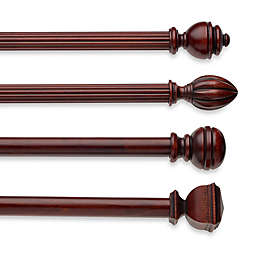 Cambria® Classic Wood Decorative Window Hardware in Cherry