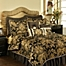 Part of the Austin Horn Classics Verona Duvet Cover in Black/Gold