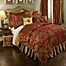 Part of the Austin Horn Classics Verona Duvet Cover in Red/Gold