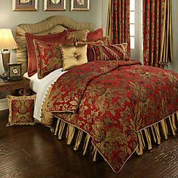 Austin Horn Classics Verona Pillow Sham in Red/Gold