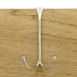 Stratford Series™ Over-the-Door Double Hook in Satin Nickel