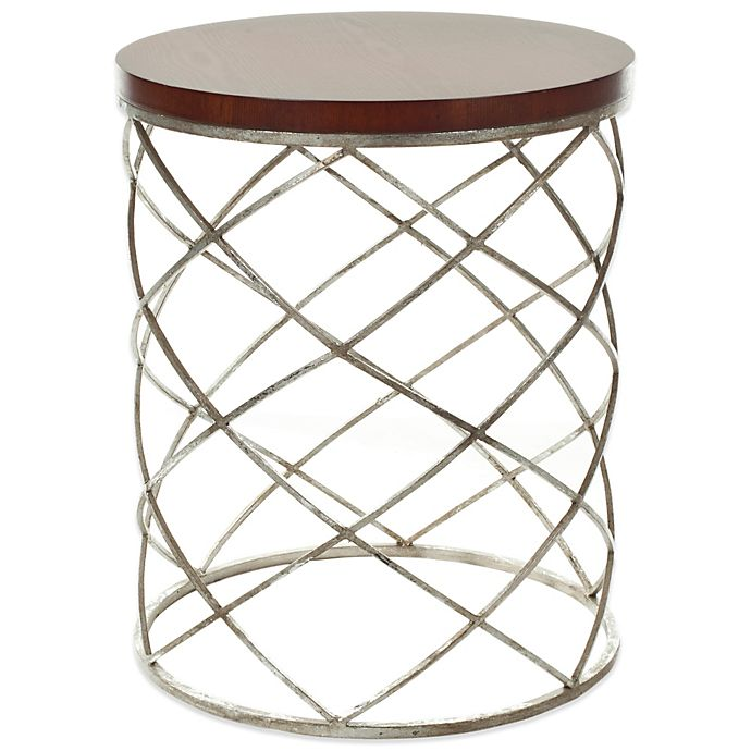 Alternate image 1 for Safavieh Phoebe Accent Table in Silver