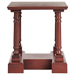 Safavieh Endora End Table in Red