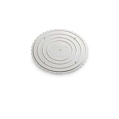 10-Inch Round Garden Cake Stand Plate