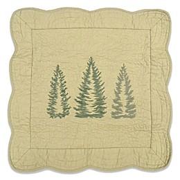 Donna Sharp Bear Creek Trees Square Throw Pillow