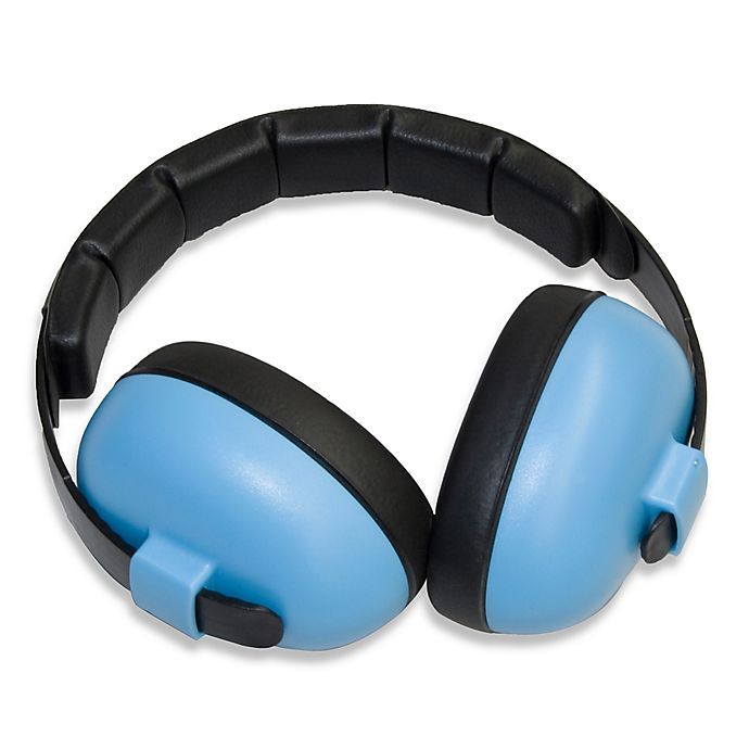Alternate image 1 for Baby Banz Size 0-2 Years earBanZ Hearing Protection in Carribbean Blue