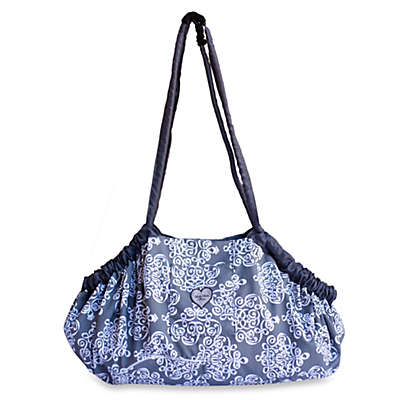 Baby Bella Maya™ 5-in-1 Diaper Tote Bag  in Royal Mist