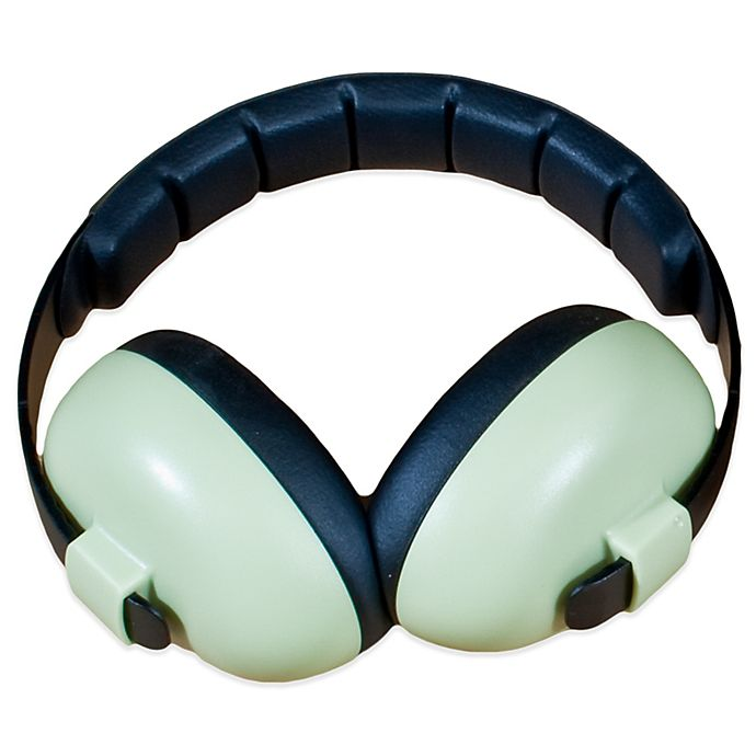 Alternate image 1 for Baby Banz Size 0-12 Years earBanZ Hearing Protection in Baby Green