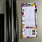 Babysitter's Best Friend Magnetic Dry Erase Organizer and Quick Reference Guide